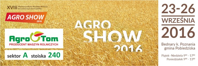 AGRO-SHOW BEDNARY 2016